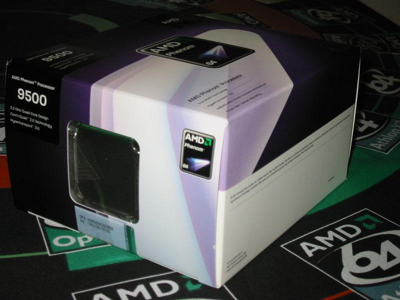 CPU界のボジョレー・ヌーヴォー、AMD Phenom 9500
